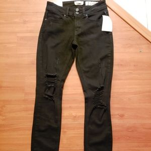 NWT Indigo rein distressed skinny anklet jeans 3